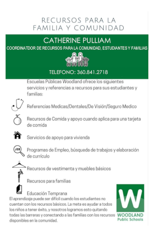 Resource Flyer Spanish