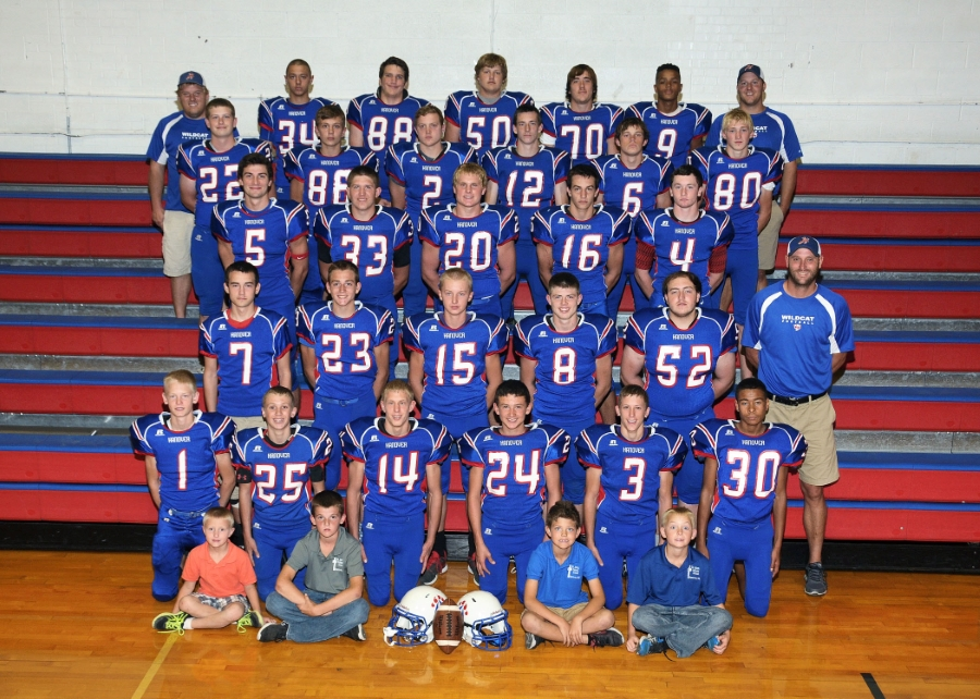 Hanover's high school football team