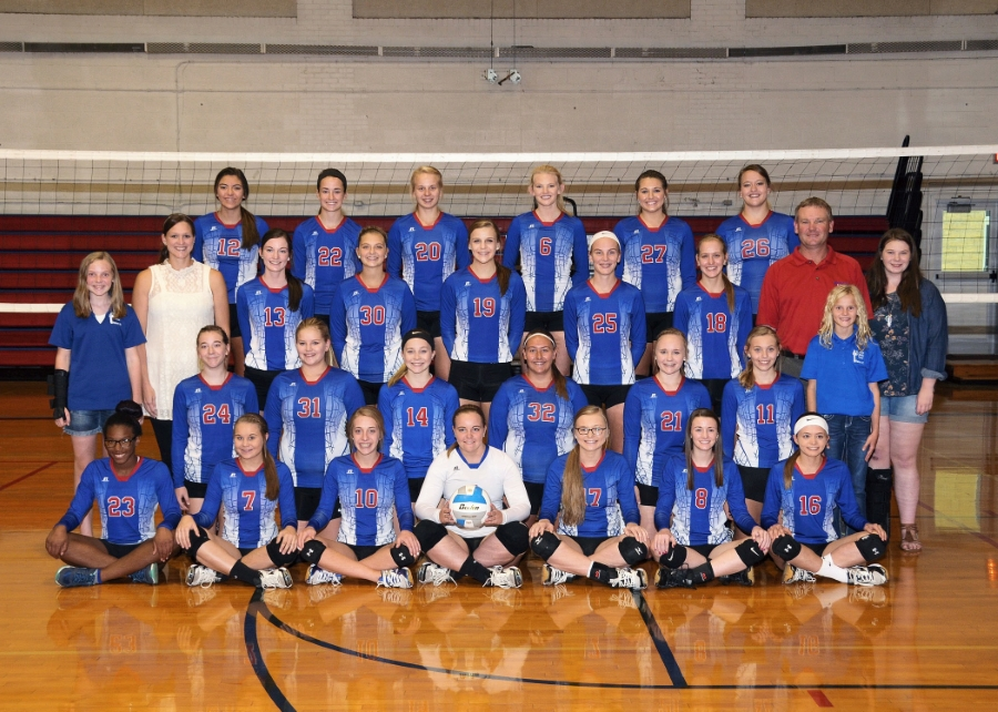 Hanover's Ladycats Volleyball team