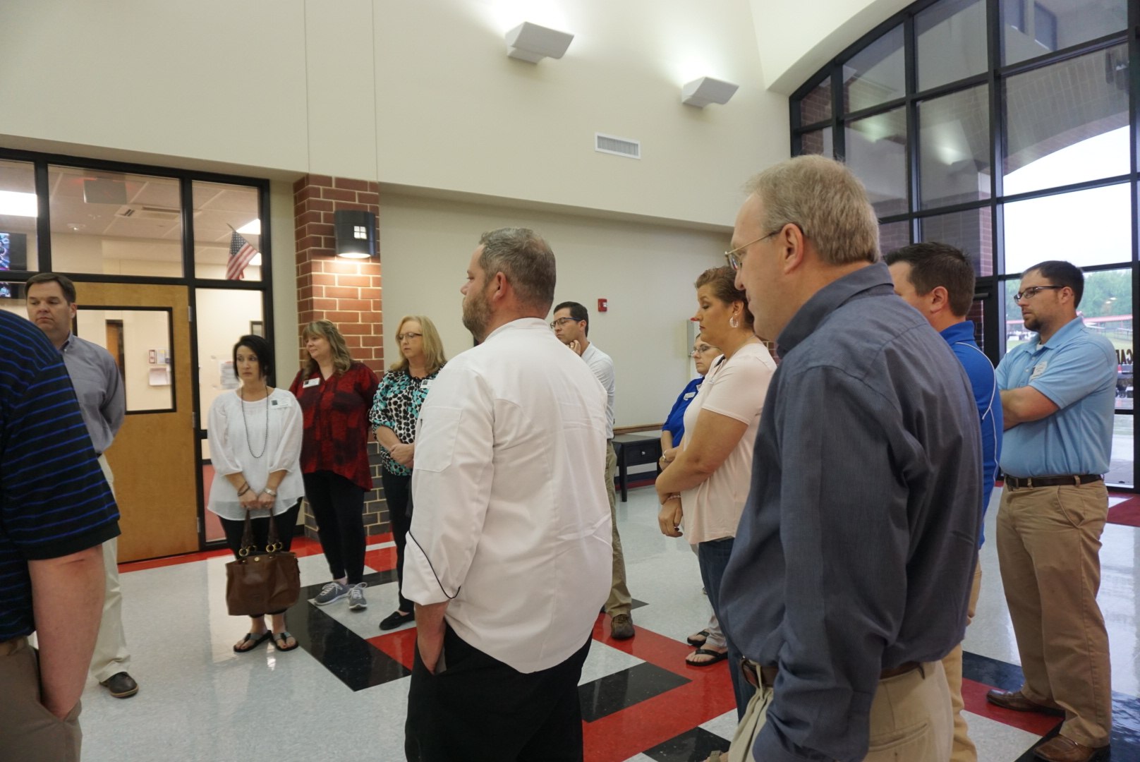 SSD Personnel visit Cabot school
