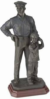 Police statue