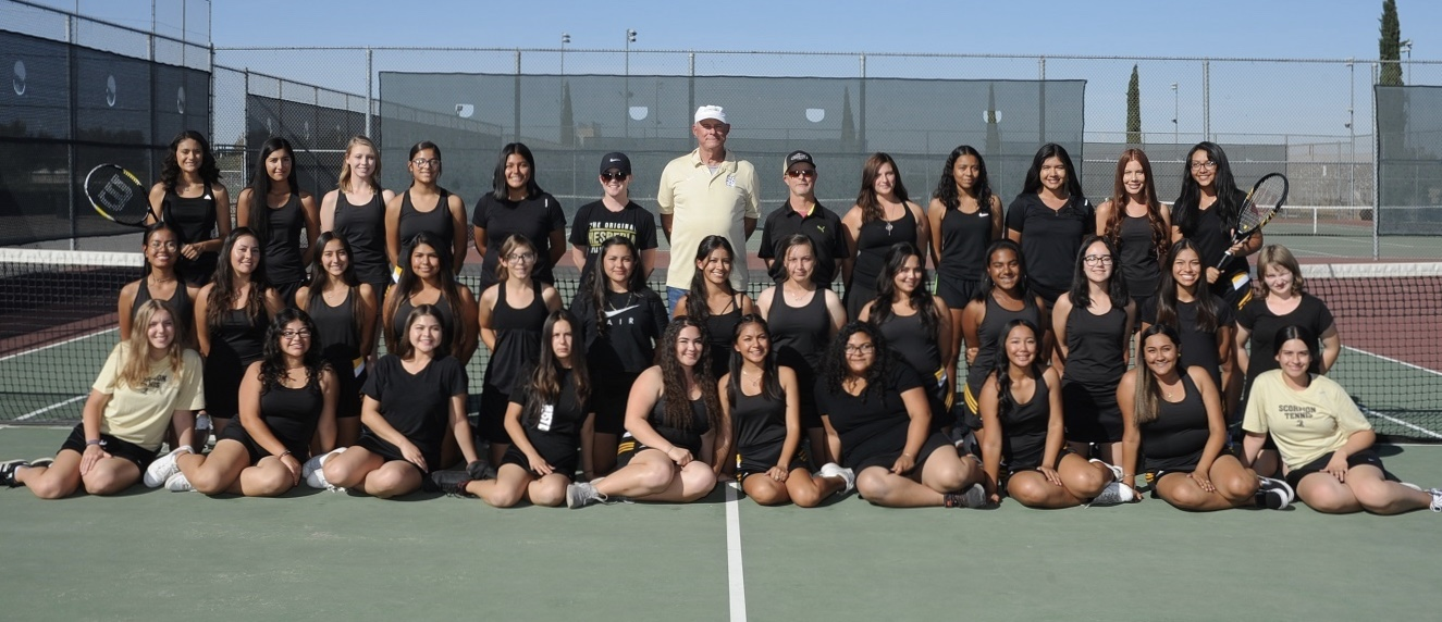 2018-2019 Scorpion Girls Tennis