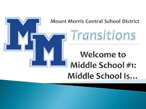 MMCSD Middle School is.... Video