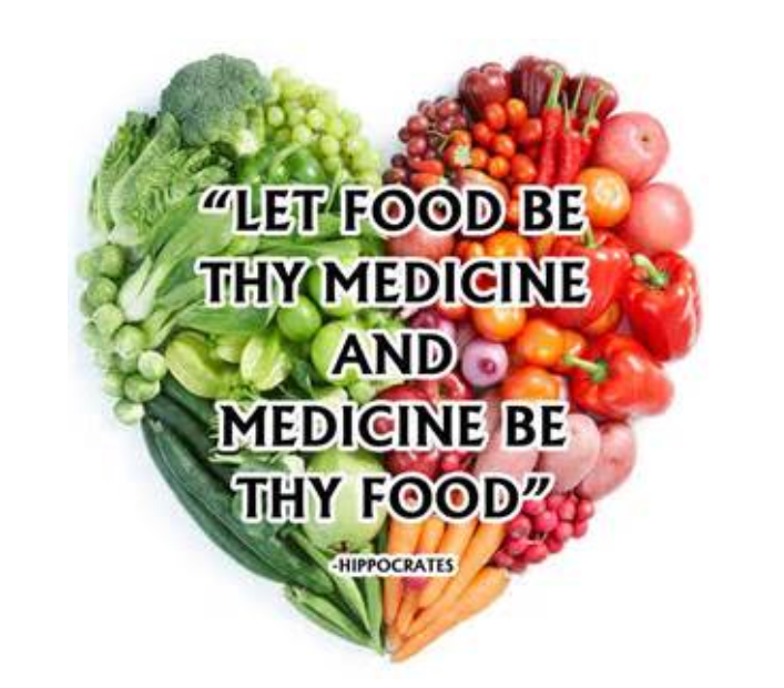 Food can be medicine