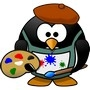 painter penguin