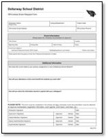 Off-Contract PD Request Form