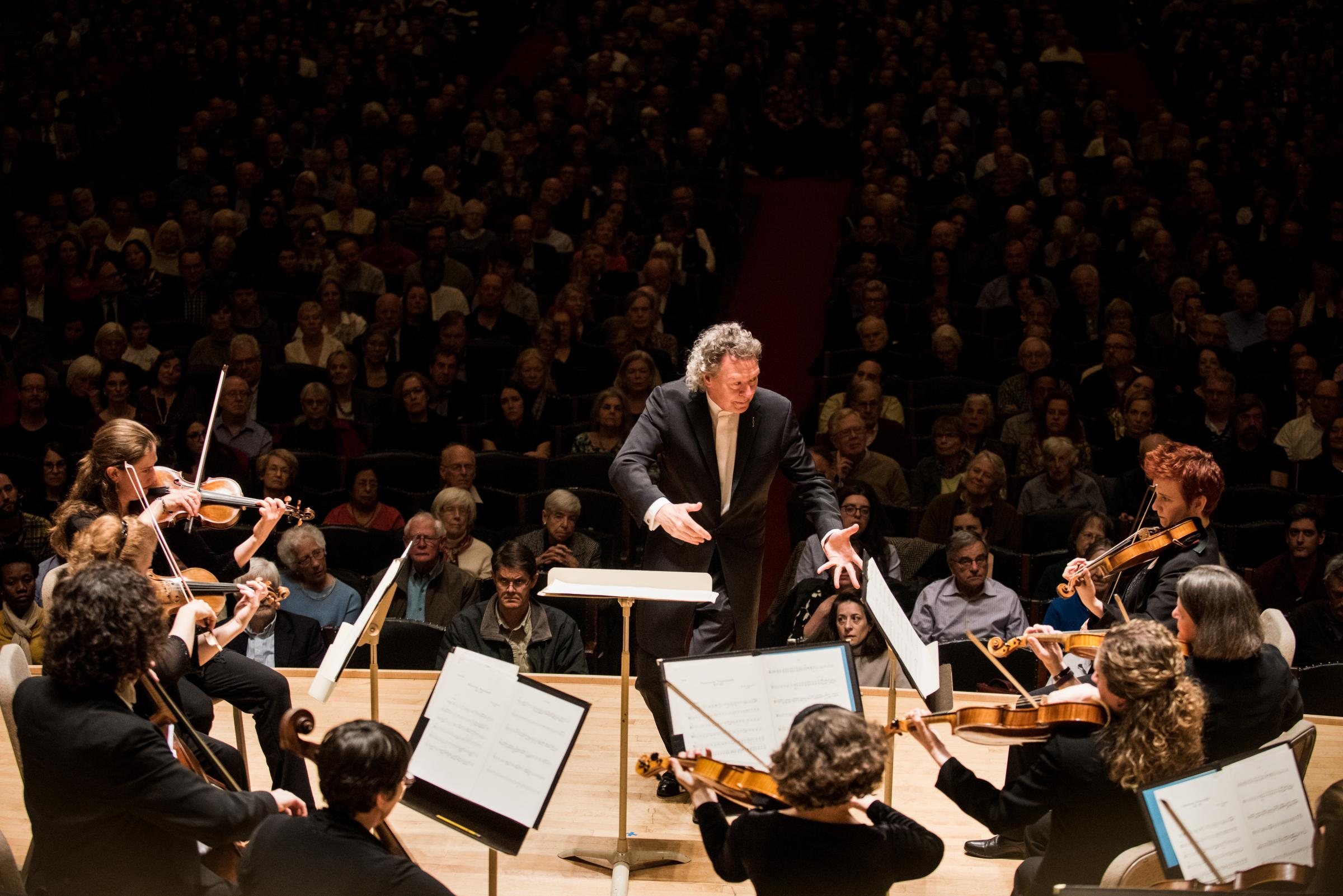 Photo: Conductor and Orchestra