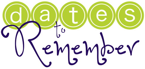 Dates to Remember logo