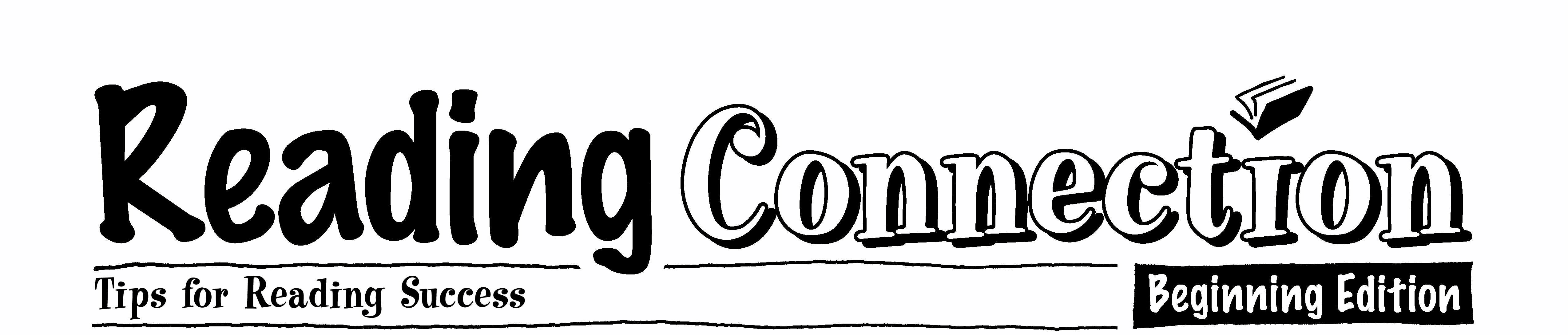 Reading Connection Tops for Reading Success Beginning edition logo