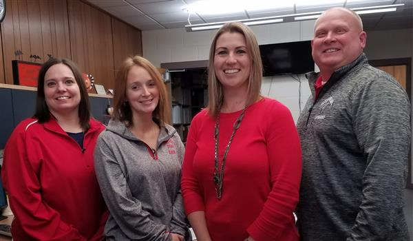 Vandercook Lake front office staff