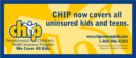 CHIP Now covers all uninsured kids and teens. go to chipcoverspakids.com for more info