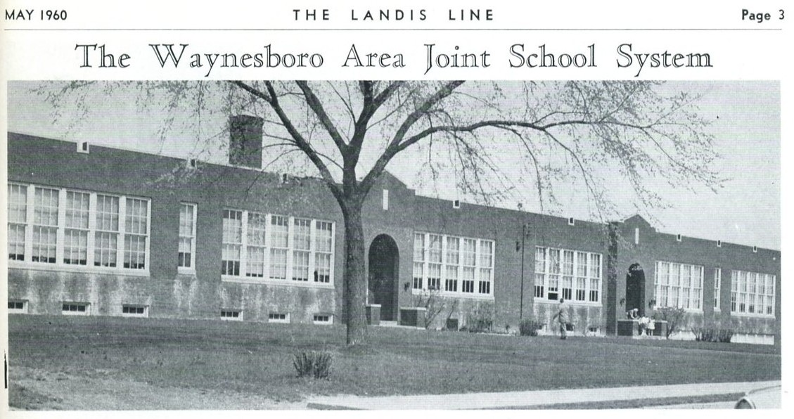 Fairview Elementary 1960