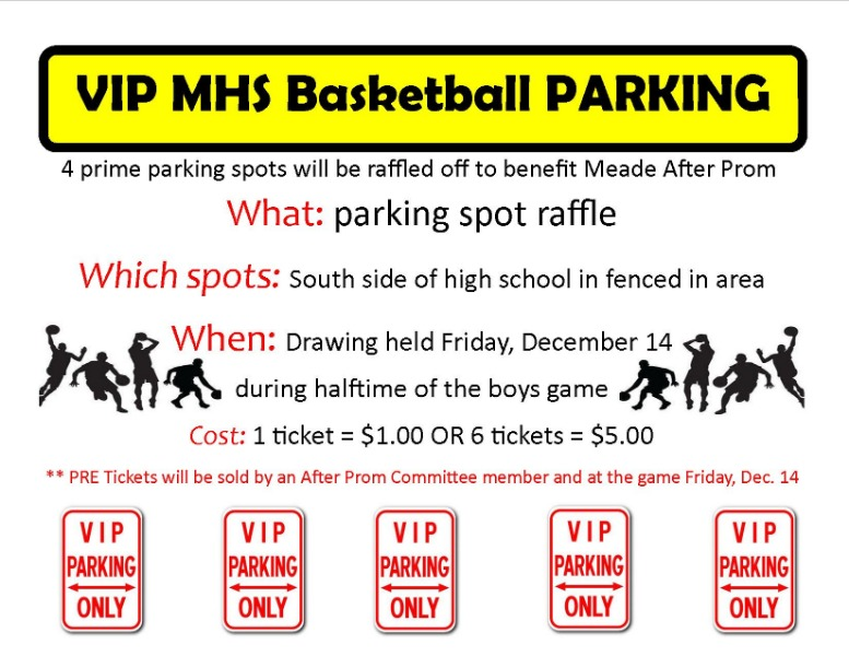 VIP MHS Basketball Parking