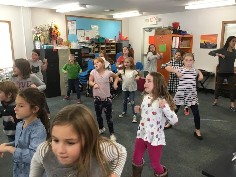 Kids dancing with Brook's Dance Studio