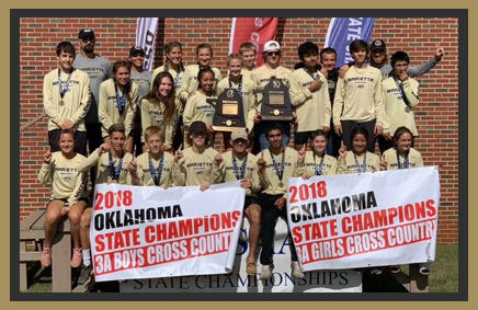 2018 Oklahoma state champions: Boys and Girls Cross Country