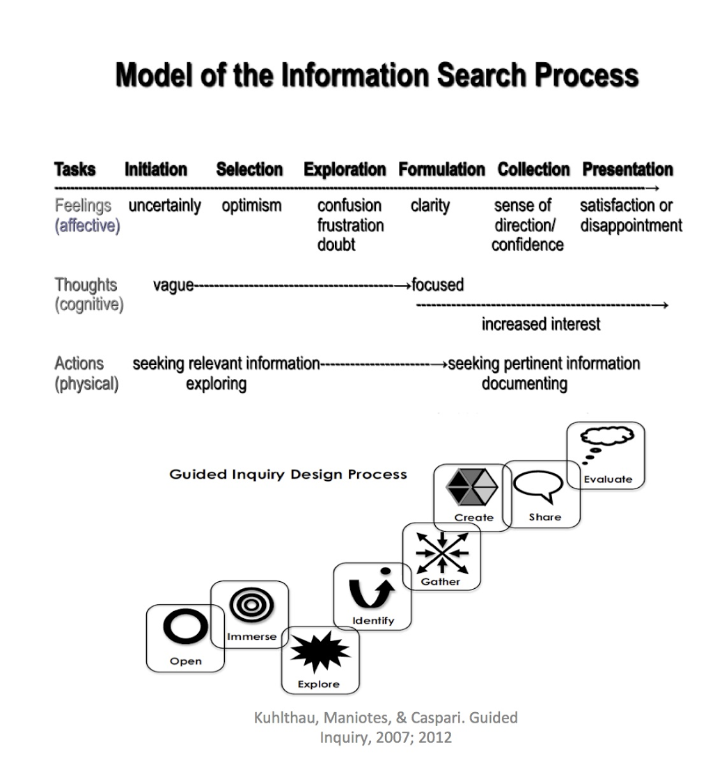 Model of information search process