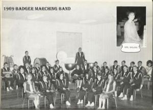 1969 Badger Marching Band