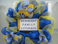 wreath for family literacy