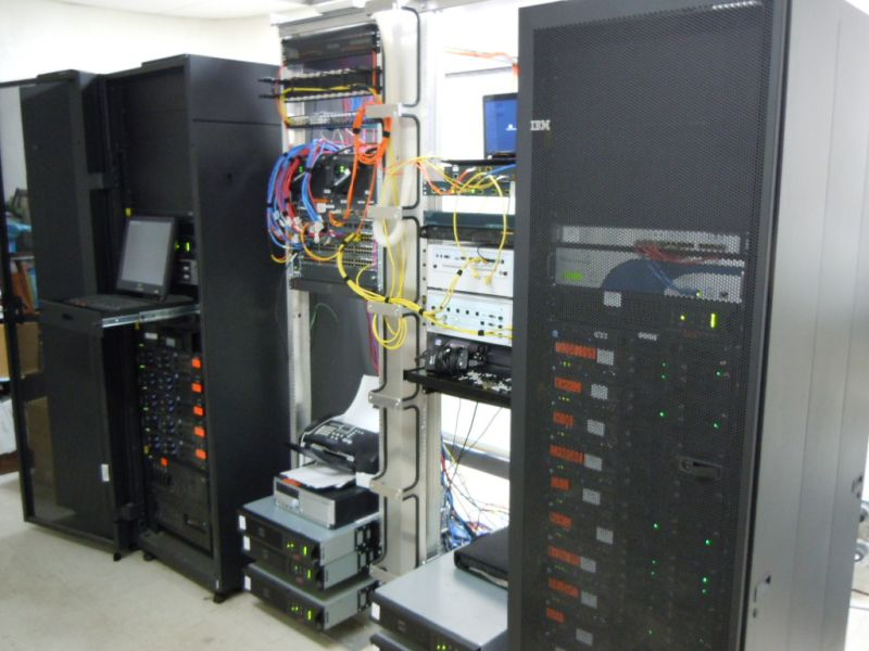 Computer equipment at WPS