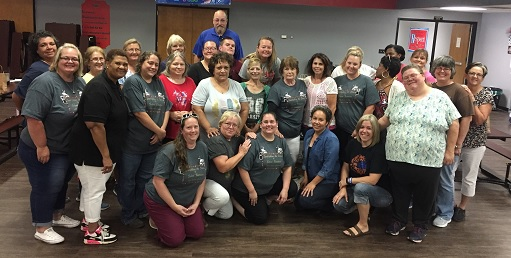 Wagoner Public Schools Child Nutrition team