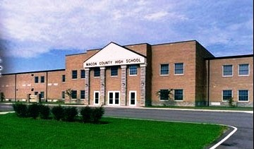 Macon County High School Building
