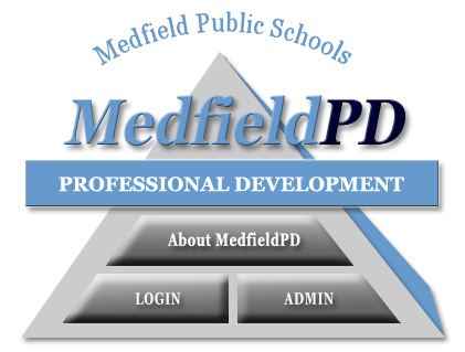 Logo for Medfield District professional Development