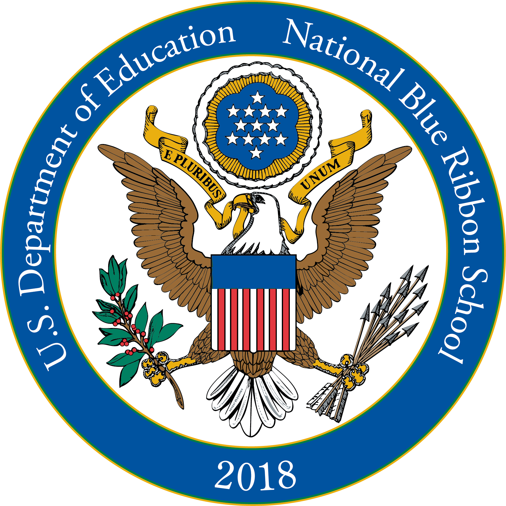 2018 National Blue Ribbon School Seal