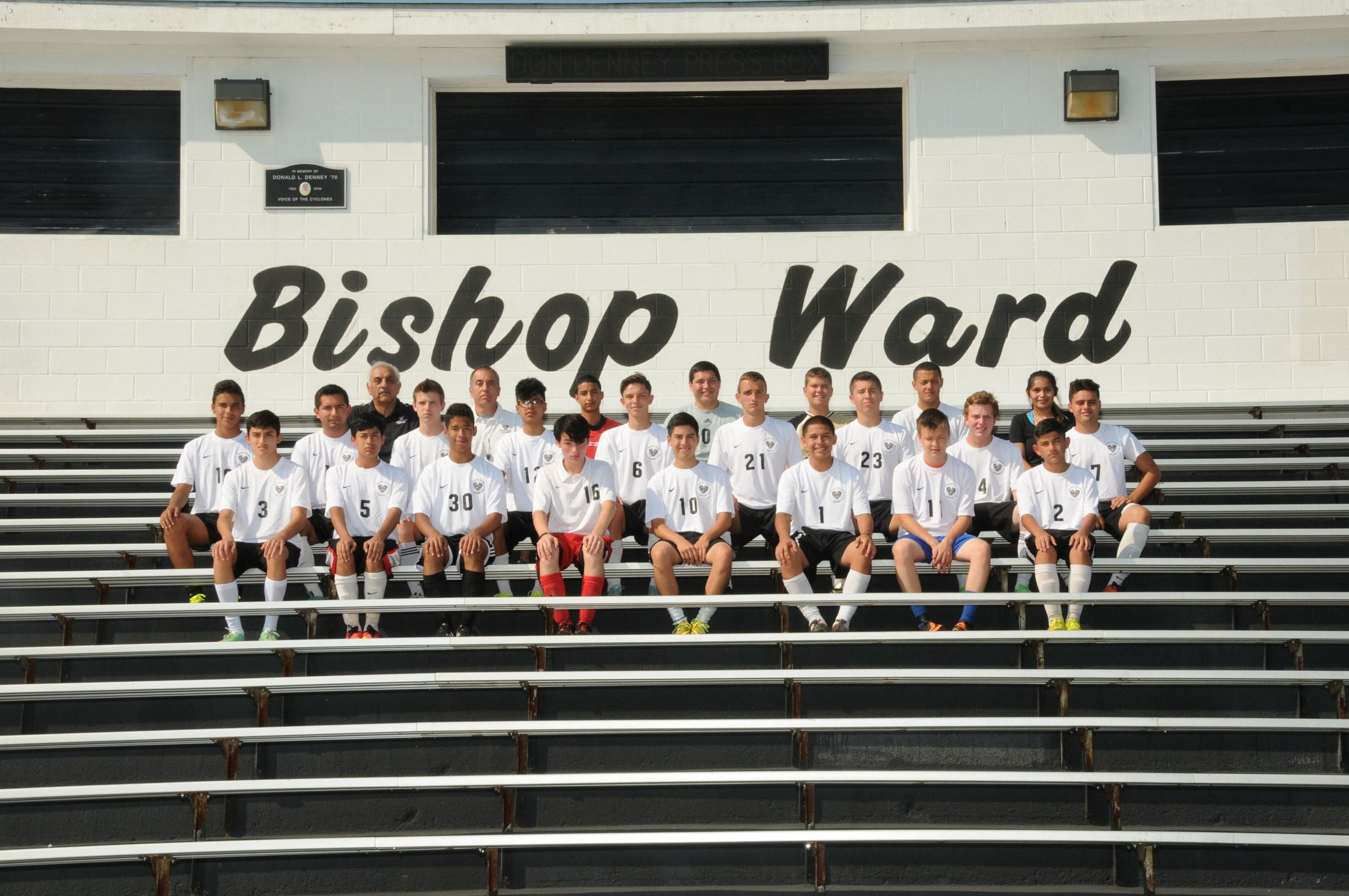 2015 Boys soccer team photo