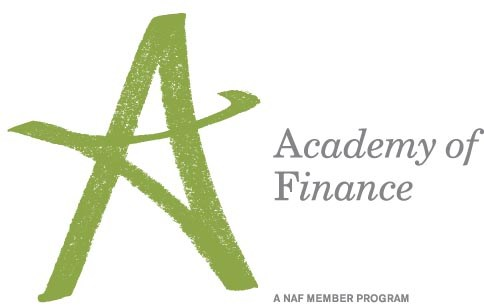 Academy of Finance logo (a green A, with a NAF Member Program underneath)
