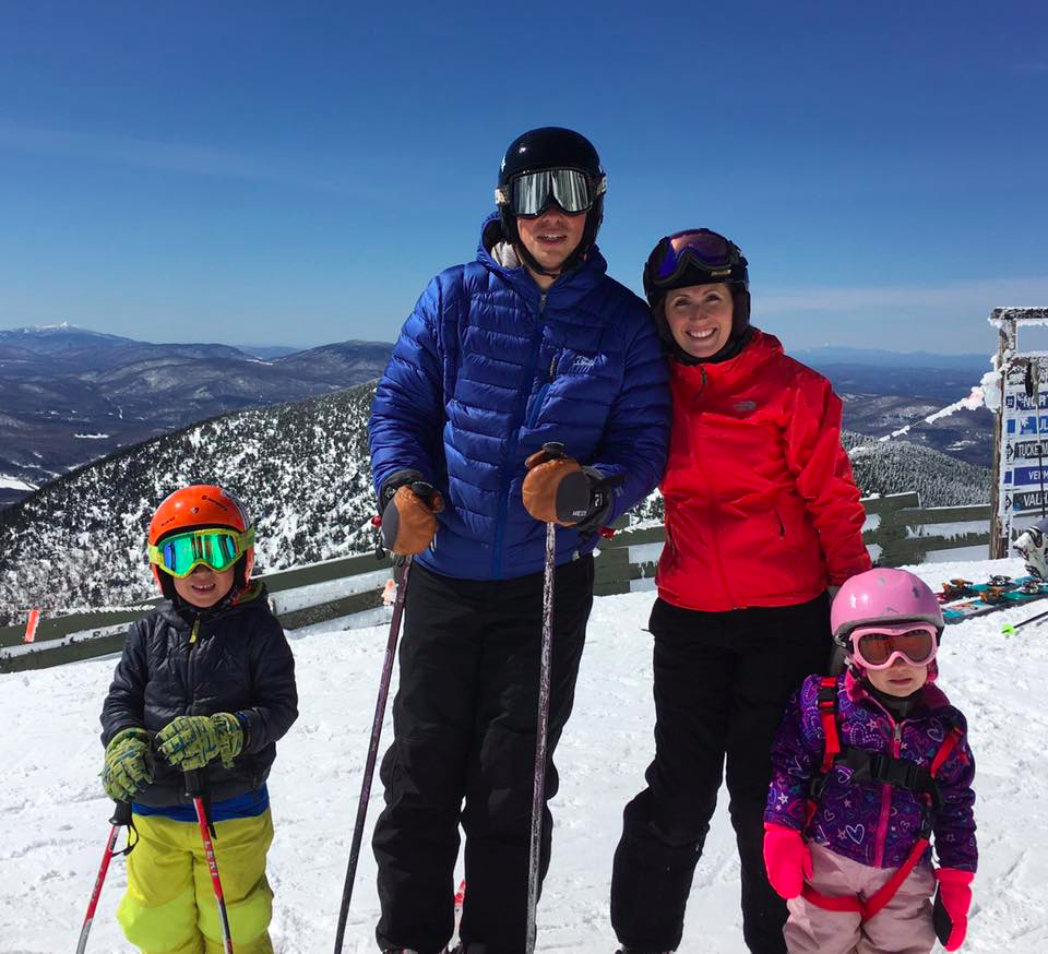 Bartash Family Photo skiing