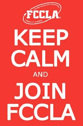 Keep Calm and Join FCCLA