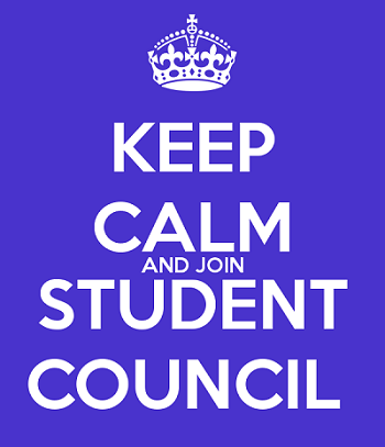 Keep Calm and Join Student Council
