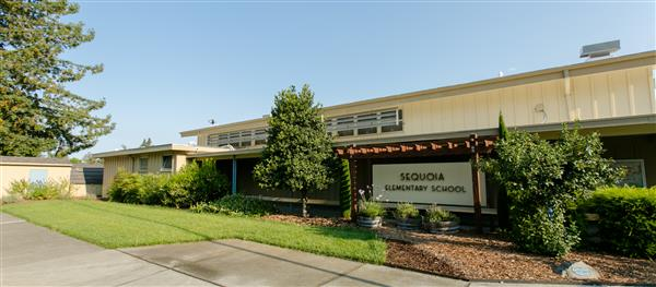 A photo of Sequoia Elementary School