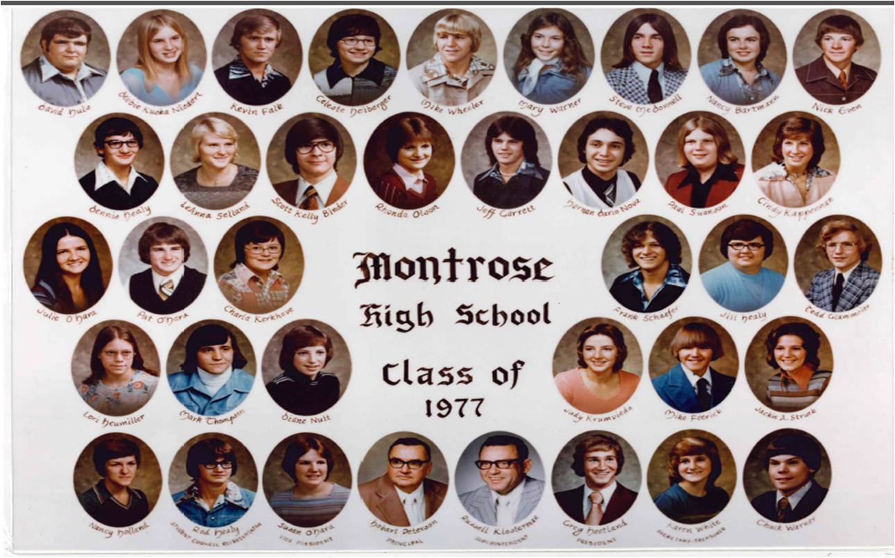 Montrose Class of 1977