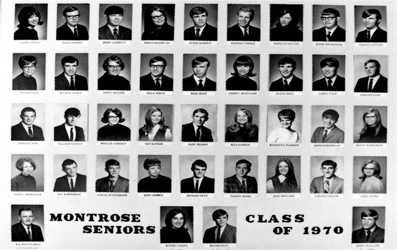Montrose Class of 1970