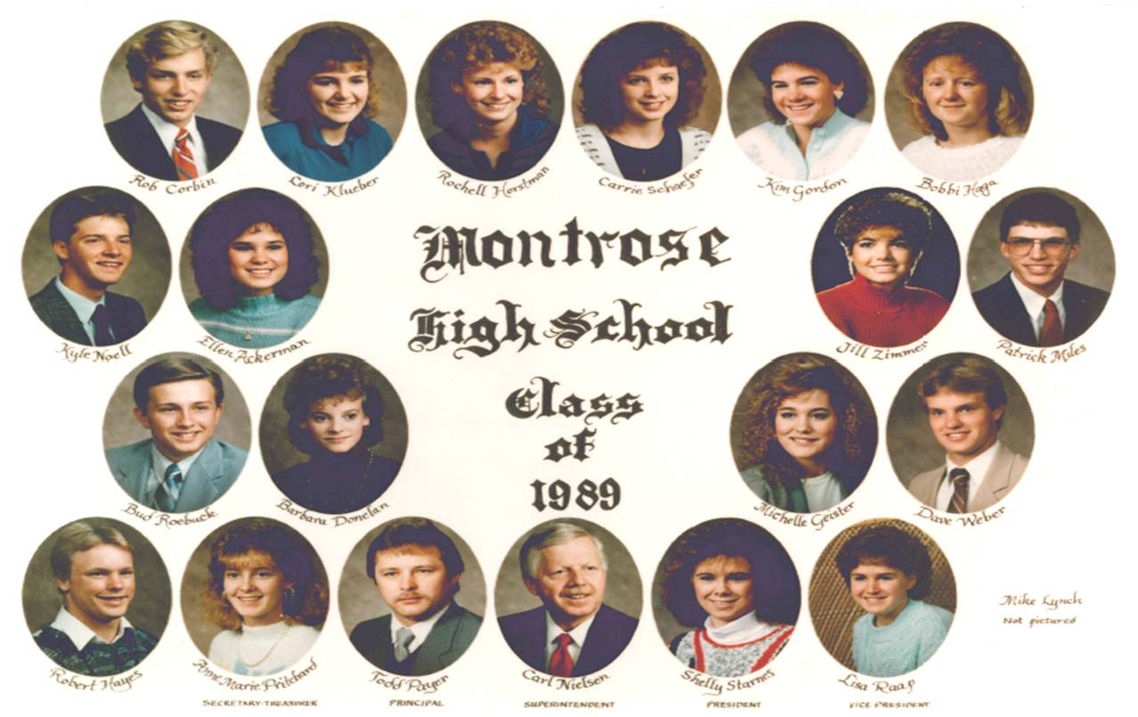 Montrose Class of 1989