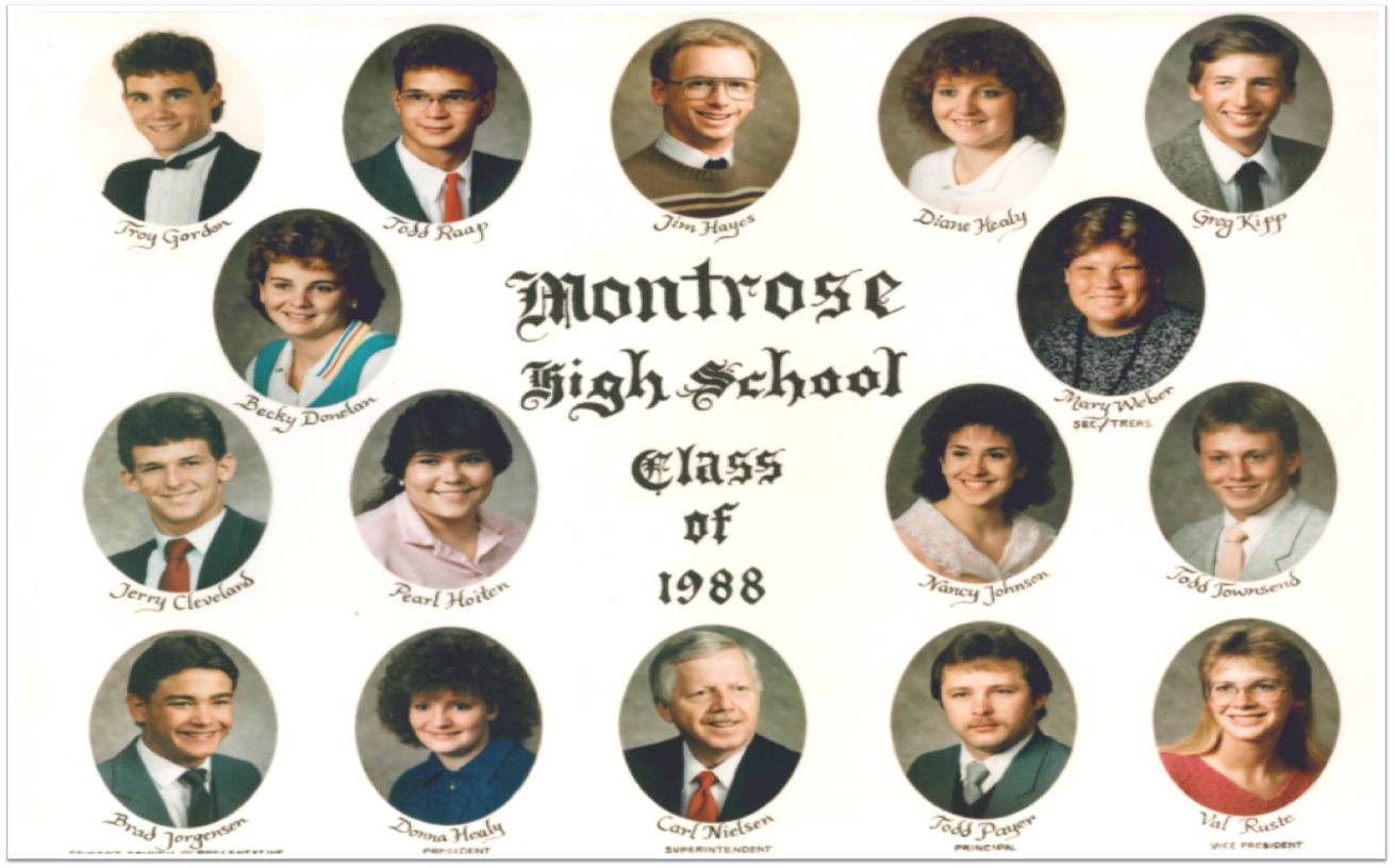Montrose Class of 1988