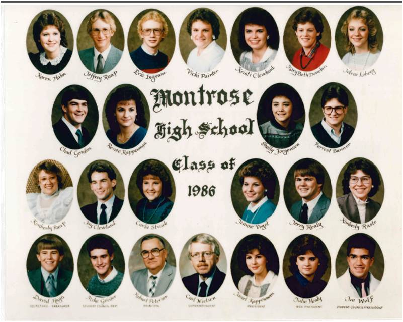Montrose Class of 1986