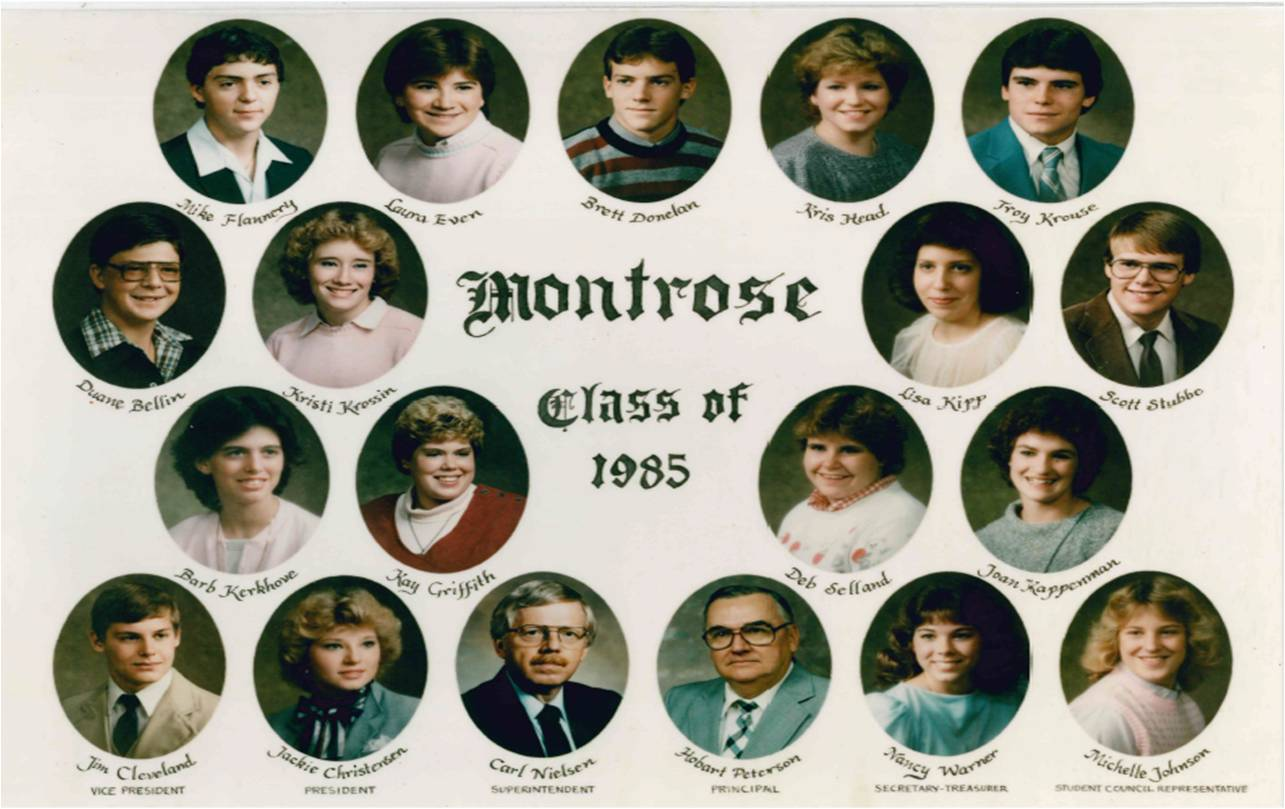 Montrose Class of 1985