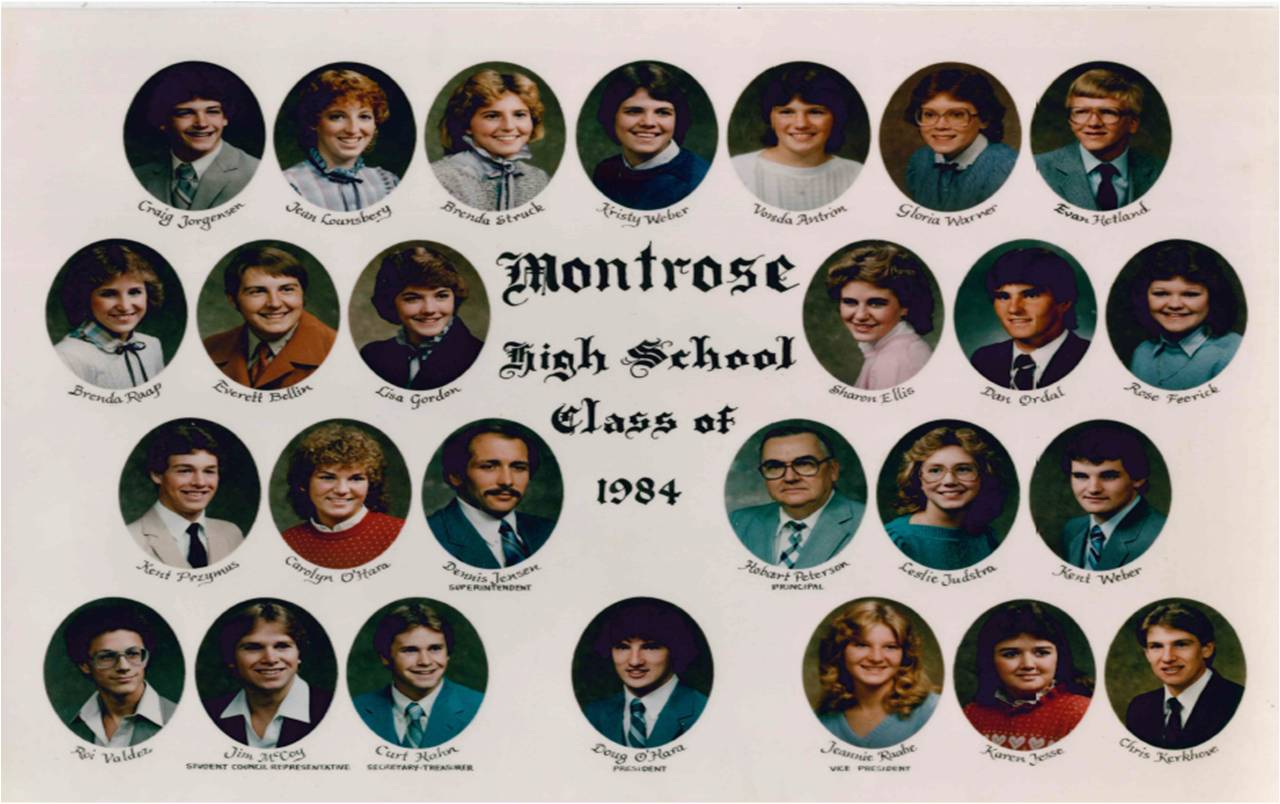 Montrose Class of 1984
