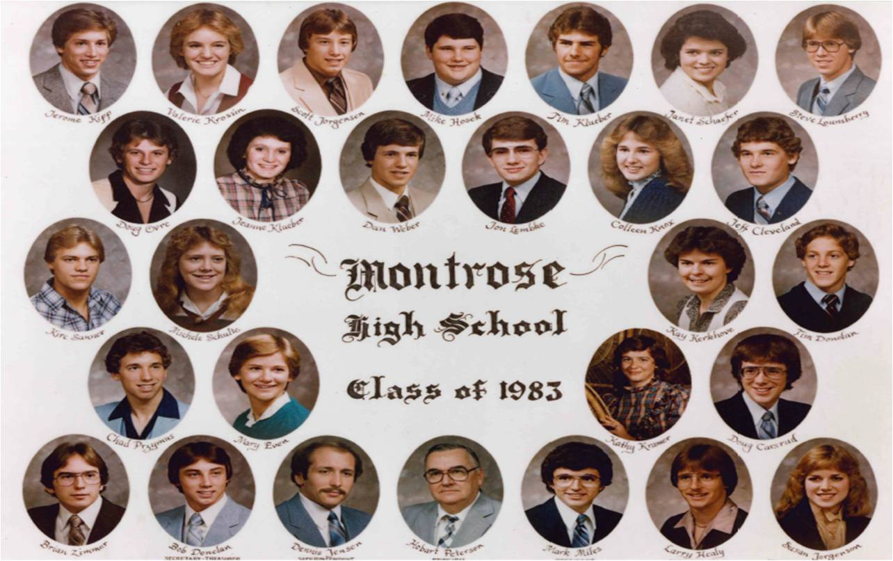 Montrose Class of 1983