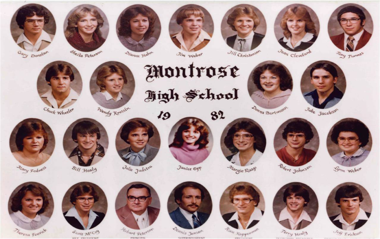 Montrose Class of 1982