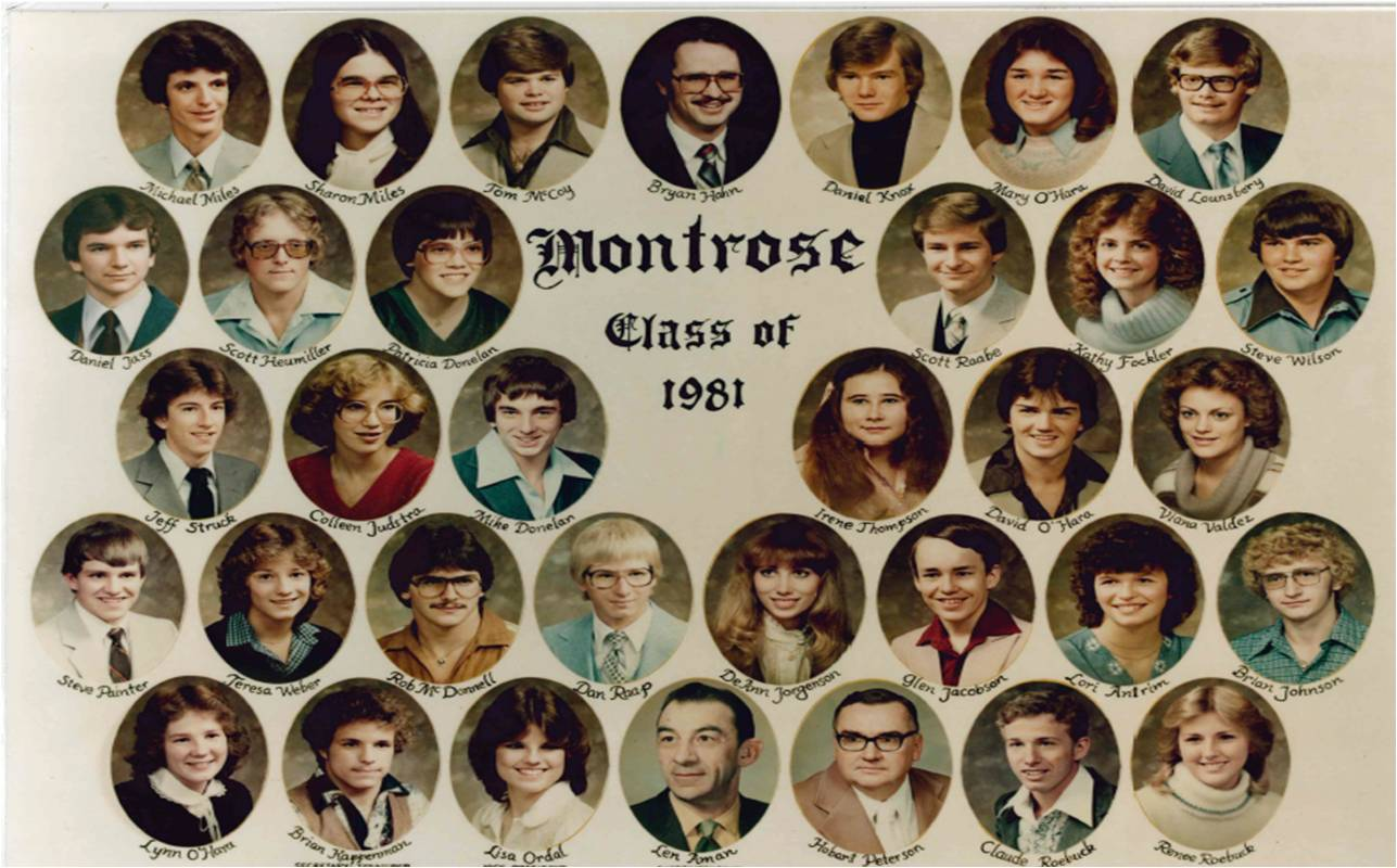 Montrose Class of 1981