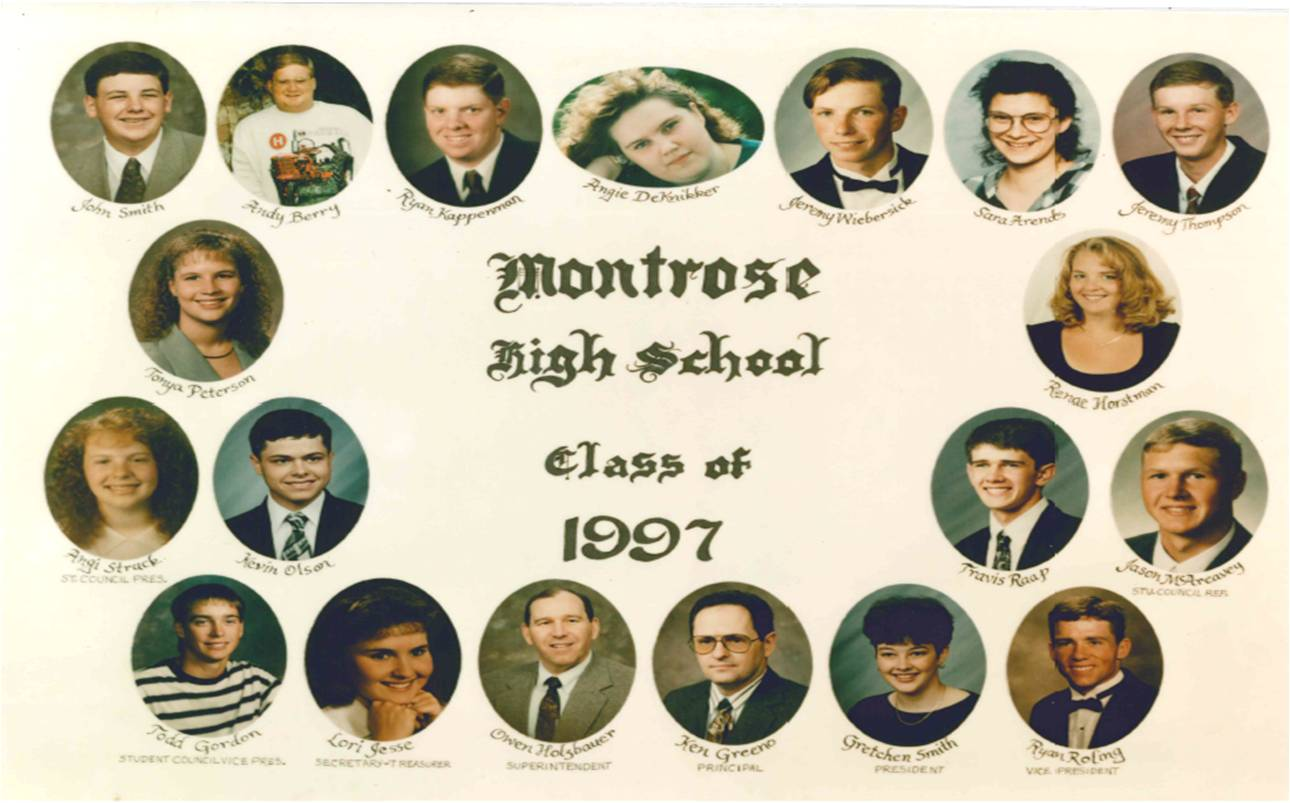 Montrose Class of 1997