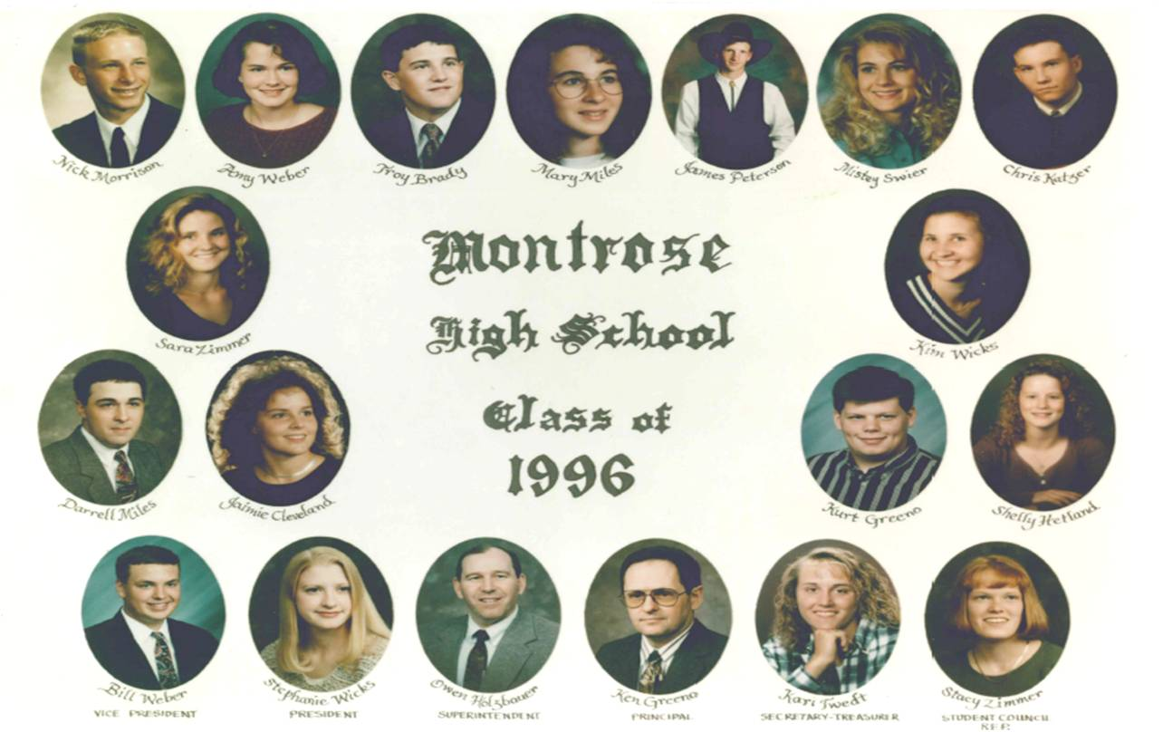 Montrose Class of 1996