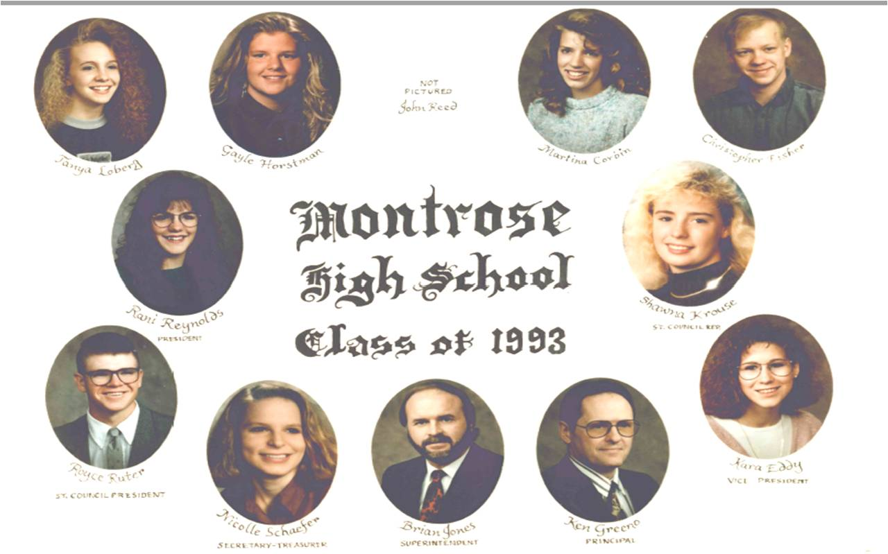 Montrose Class of 1993