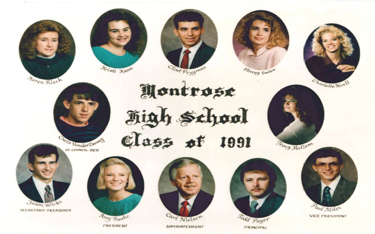 Montrose Class of 1991