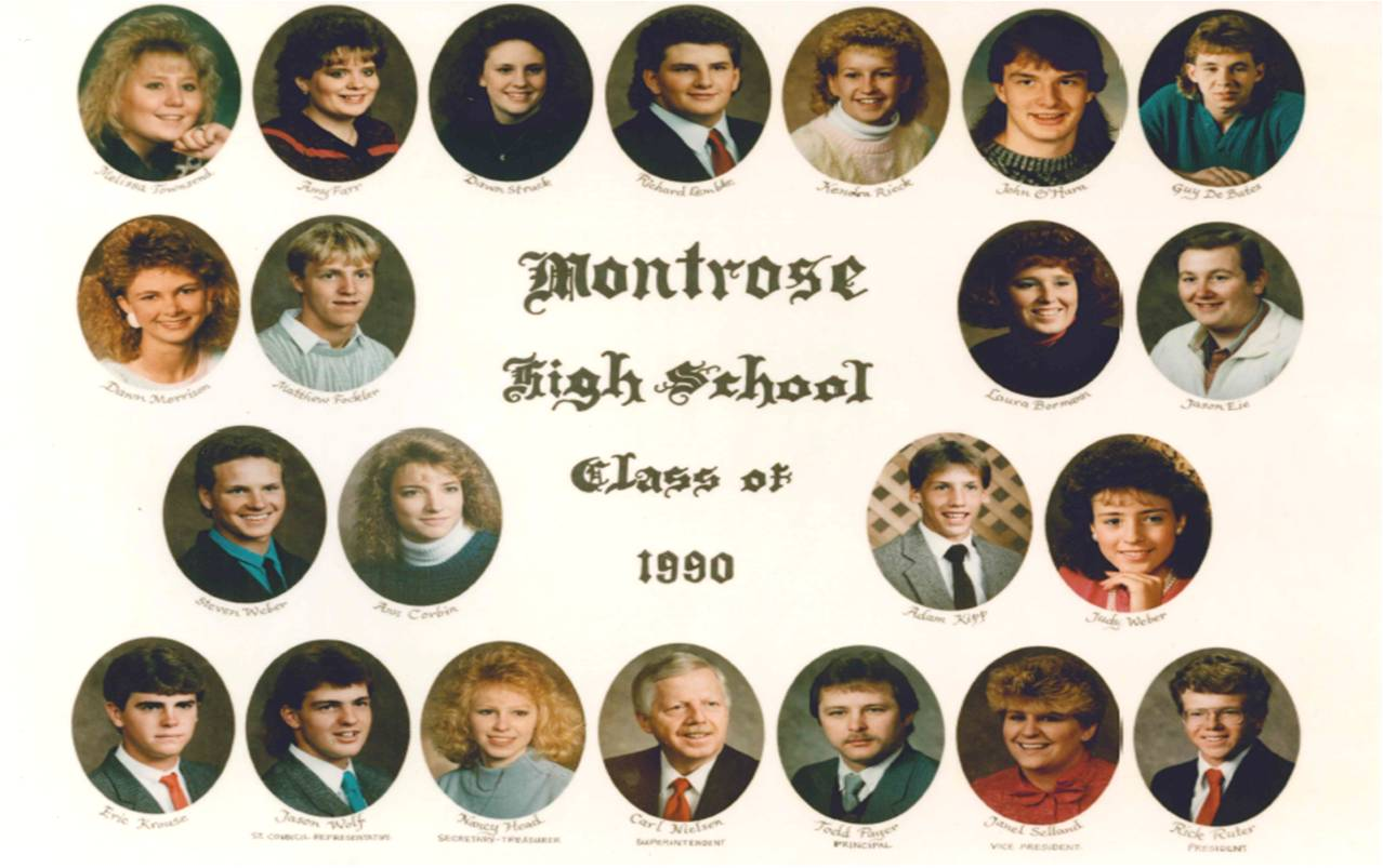 Montrose Class of 1990