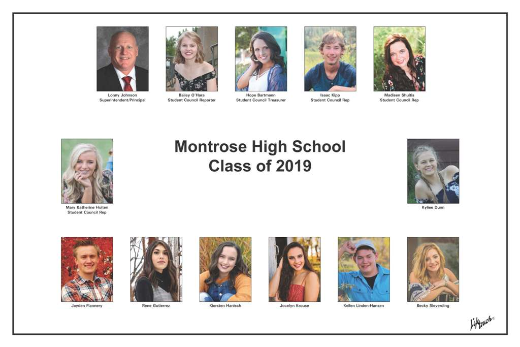Montrose Class of 2019