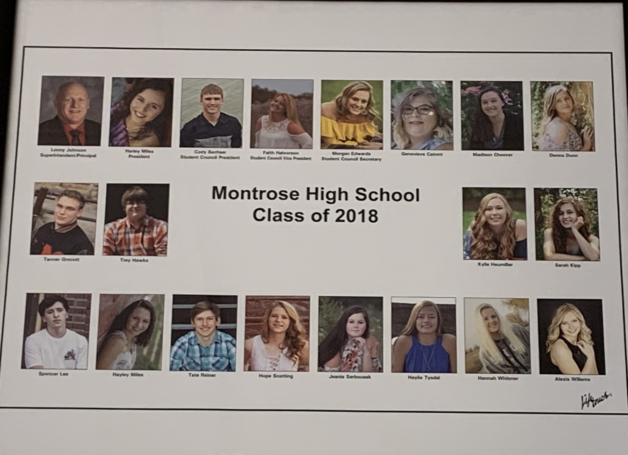 Montrose Class of 2018